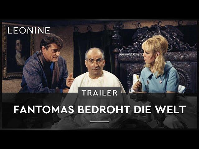 Fantomas bedroht die Welt - Trailer