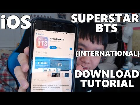 SUPERSTAR BTS Download Tutorial For iOS [Worldwide/International]