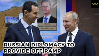 Russia ramps up diplomacy to provide off ramp options to Iran & USA