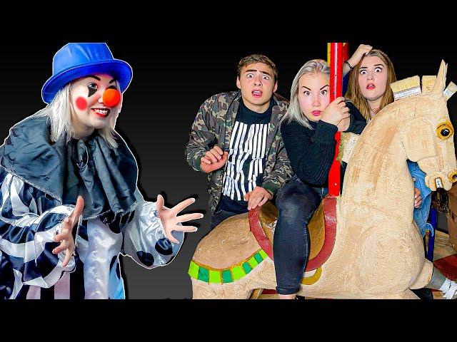 24 Часа В Заброшенном Цирке Челлендж Против Клоуна !