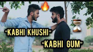 Gambar cover kabhi khushi kabhie gham || Sad Videos creation