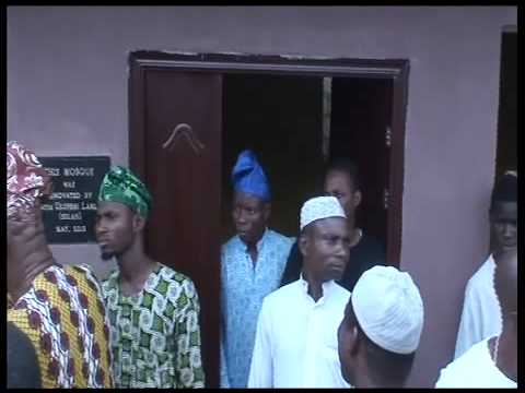 Dedication of Rebuilt Arowodana Mosque, Nalende, Ibadan PT4