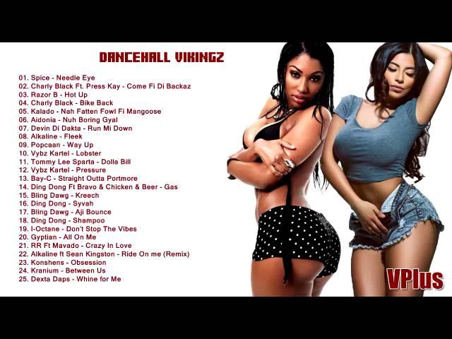 Dancehall Vikingz    New Dancehall Mix   2015   Spice, Vybz Kartel, Popcaan, Mavado