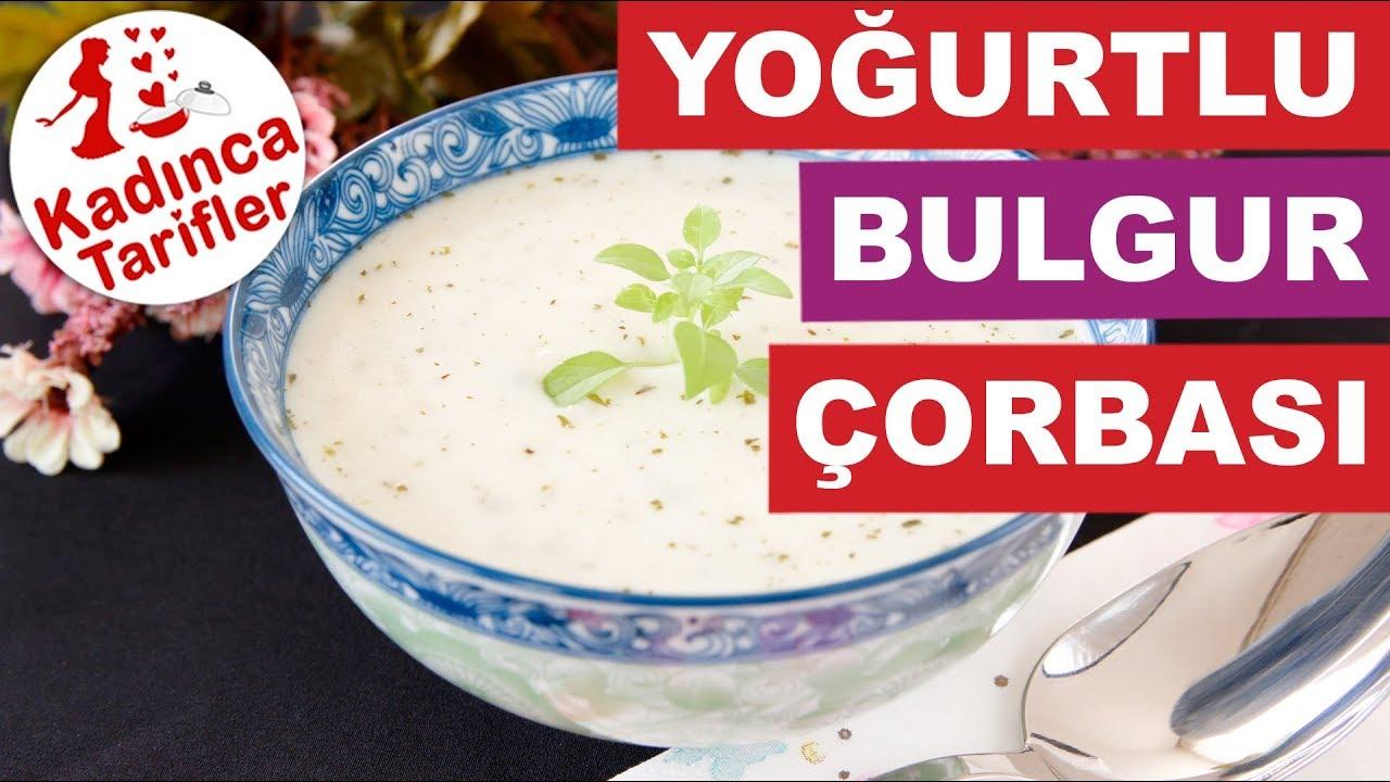 Yoğurtlu Bulgur Çorbası Tarifi – Çorba Tarifleri