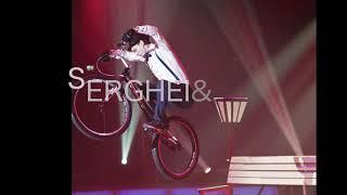 Showreel 2020 circus. Serghei & Rika. Bike trial show and Aerial show