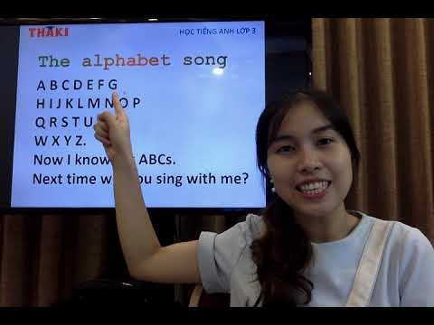Học tiếng Anh lớp 3 – Unit 2. What's your name? – Lesson 1 – THAKI