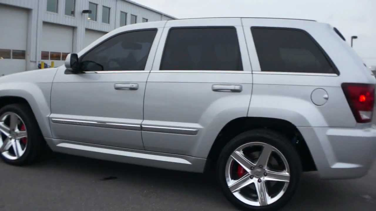 2009 jeep grand cherokee srt8 for  - youtube