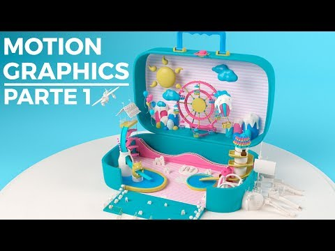 MOTION GRAPHICS 3D - PARTE 1