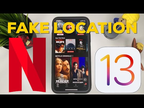 How To Fake Location To Watch Netflix On Different Region - IOS 13 OUTDATED! New Version Below
