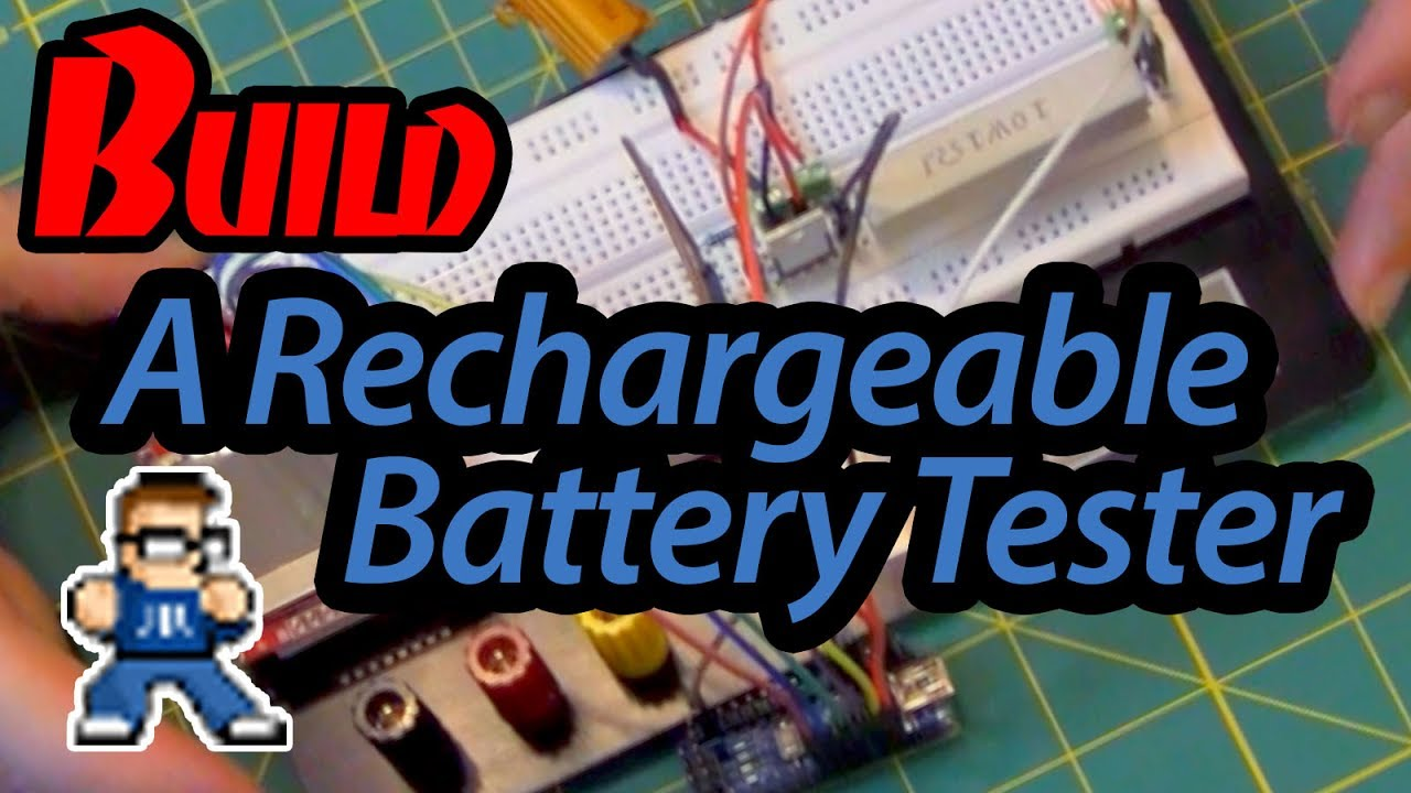 How To Build A Battery Tester Youtube Nicad Charger By Fet Irf9530