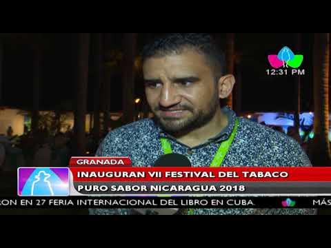 Granada:  inauguran VII Festival del Tabaco Puro Sabor Nicaragua 2018