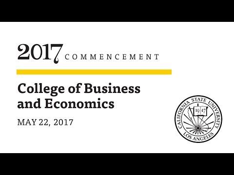 Ceremony 8  ǀ  1 P.m.  ǀ  College Of Business And Economics