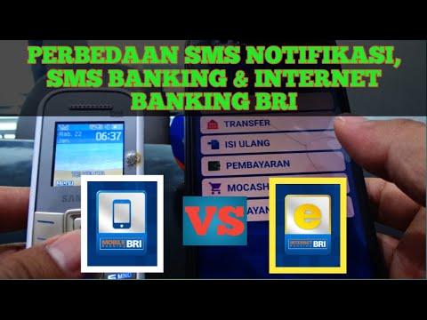 Perbedaan Internet Banking Bri, Sms Banking Dan Sms Notifikasi