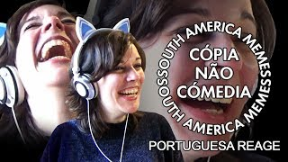 PORTUGUESA REAGE A SOUTH AMERICA MEMES