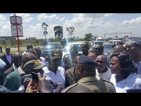 Looming showdown in the capital City as Raila Odinga returns from international trip