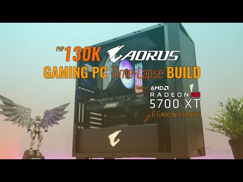 130K AORUS Gaming PC Time Lapse Build ft. Ryzen 7 3800X + Gigabyte RX 5700 XT w/ 6 Game Benchmarks