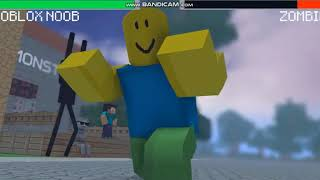 roblox noob pro vs Minecraft schools Monster