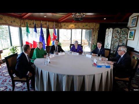 """Лидеры ЕС в """"Большой семерке"""" выступили против возвращения России / Новости"""