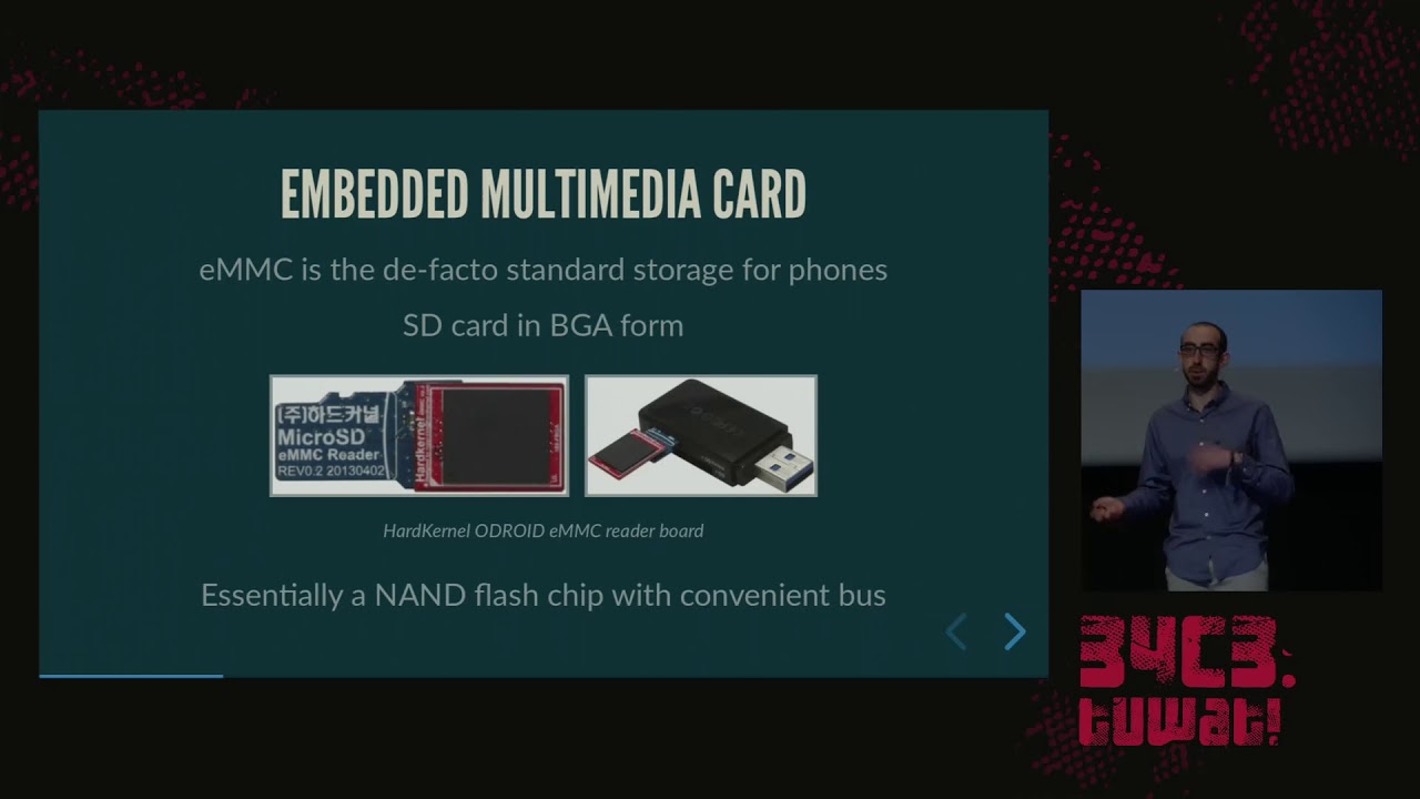 34C3 - eMMC hacking, or: how I fixed long-dead Galaxy S3 phones
