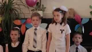 Видео Сьемка - выпускной начальной школы 2 школа