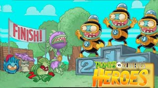 A Fight To The Finish Line - Zombie Mission 6 Final | Plants vs. Zombies Heroes