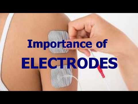 Electrodes for E-Stim and Electrotherapy Machines