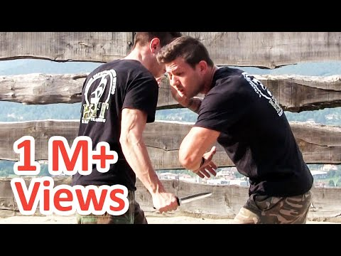 KRAV MAGA TRAINING • How to survive a Knife attack (part 2 of 4)