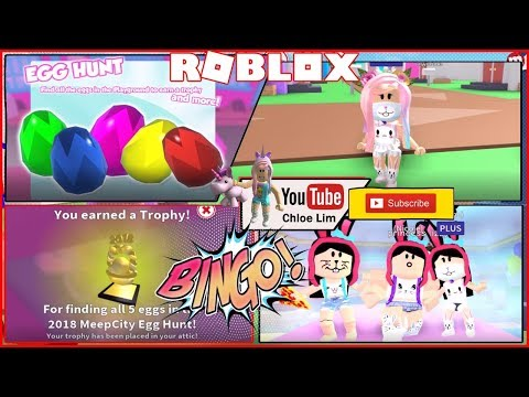 Meepcity Easter Egg Hunt All Eggs Location Youtube