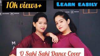 O SAKI SAKI~BATLA HOUSE~DANCE ~BY AANSHI & SAKSHI..(learn easily)
