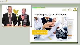 Aloe Propolis Krem - Aloe Vera ve Arı Propolis mükemmel bir kombinedir.