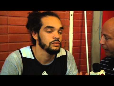 Chicago Bulls in Rio, Brazil: Joakim Noah interview - 09.10.13