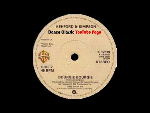 Ashfor & Simpson - Bourgie Bourgie (A Larry Levan Extended Mix)