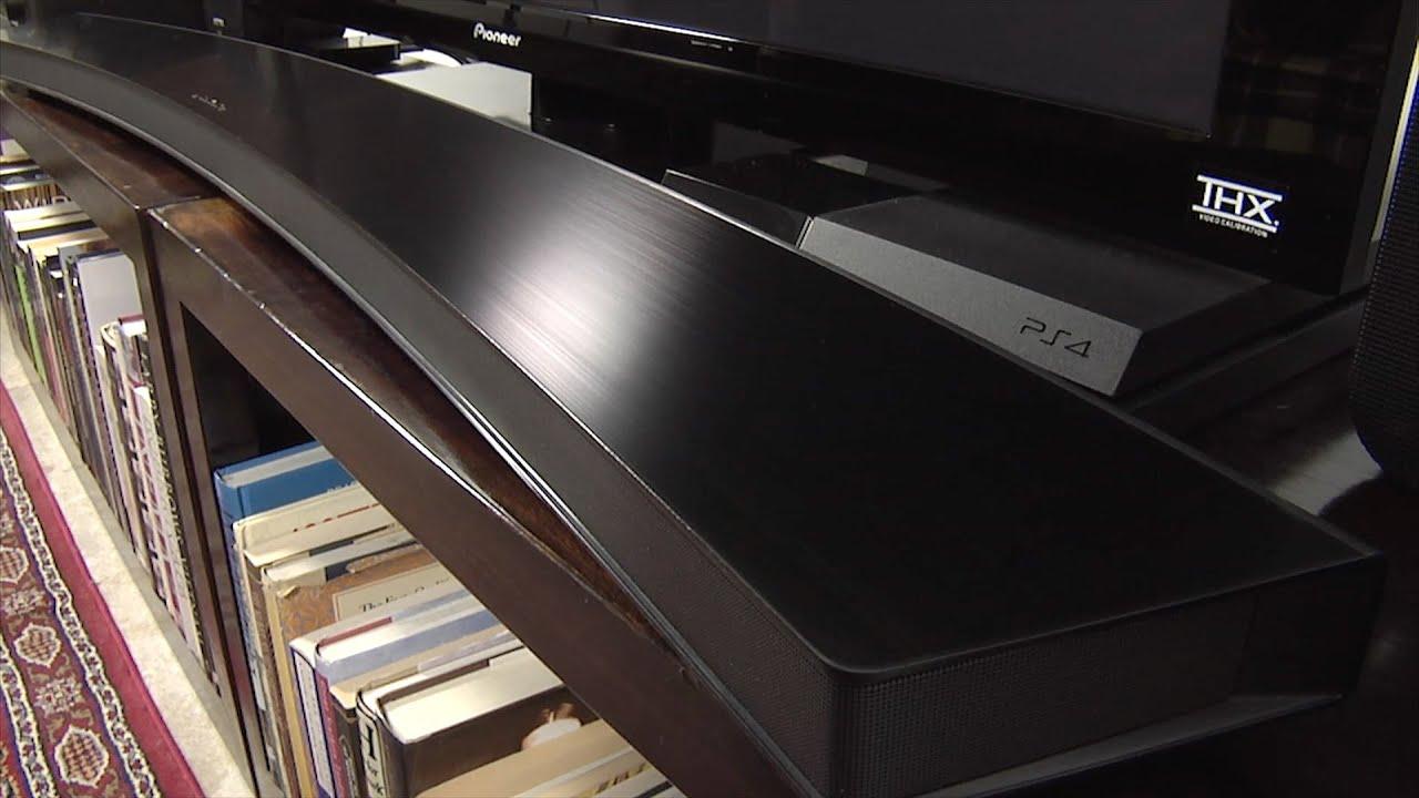 Samsung HW J8500 Soundbar Demo Review - YouTube