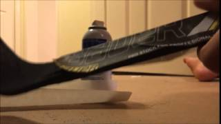 How I Make My Mini Hockey Sticks!!!