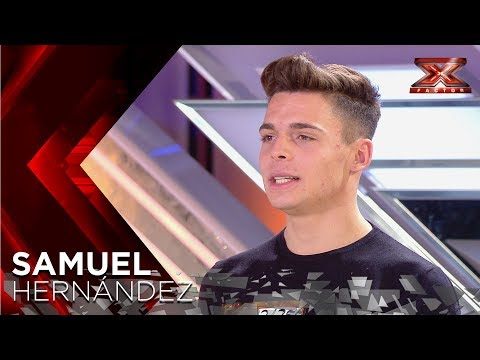 A Rick Astley clone? Samuel's powerful voice wows Laura Pausini | Auditions 5 | The X Factor 2018