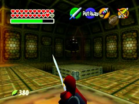 N64 Ocarina Of Time Ganondorf Battle