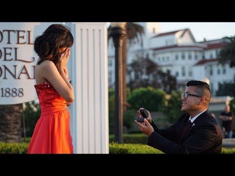 Navy Sailor surprise proposal!!! | Brandon & Venice