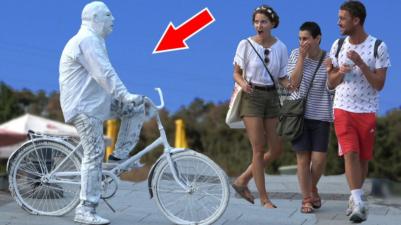Scary Human Statue Prank 2020 | Best of Just For Laughs - AWESOME REACTIONS