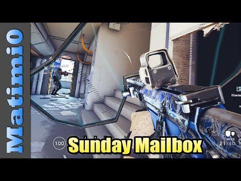 Foam Grenade - Sunday Mailbox - Rainbow Six Siege