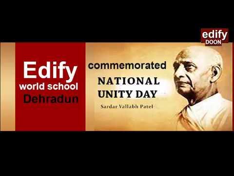 Edify National UnityDay 31oct