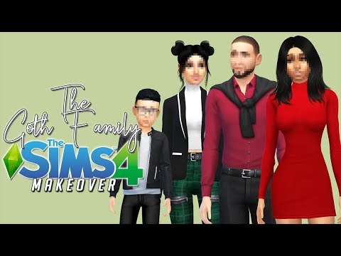 WACK TO SNACK! | The Goth Family Makeover | The Sims 4 thumbnail