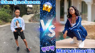 Skaijackson vs marsaimartin(hard battle) mขst watch 😱🔥