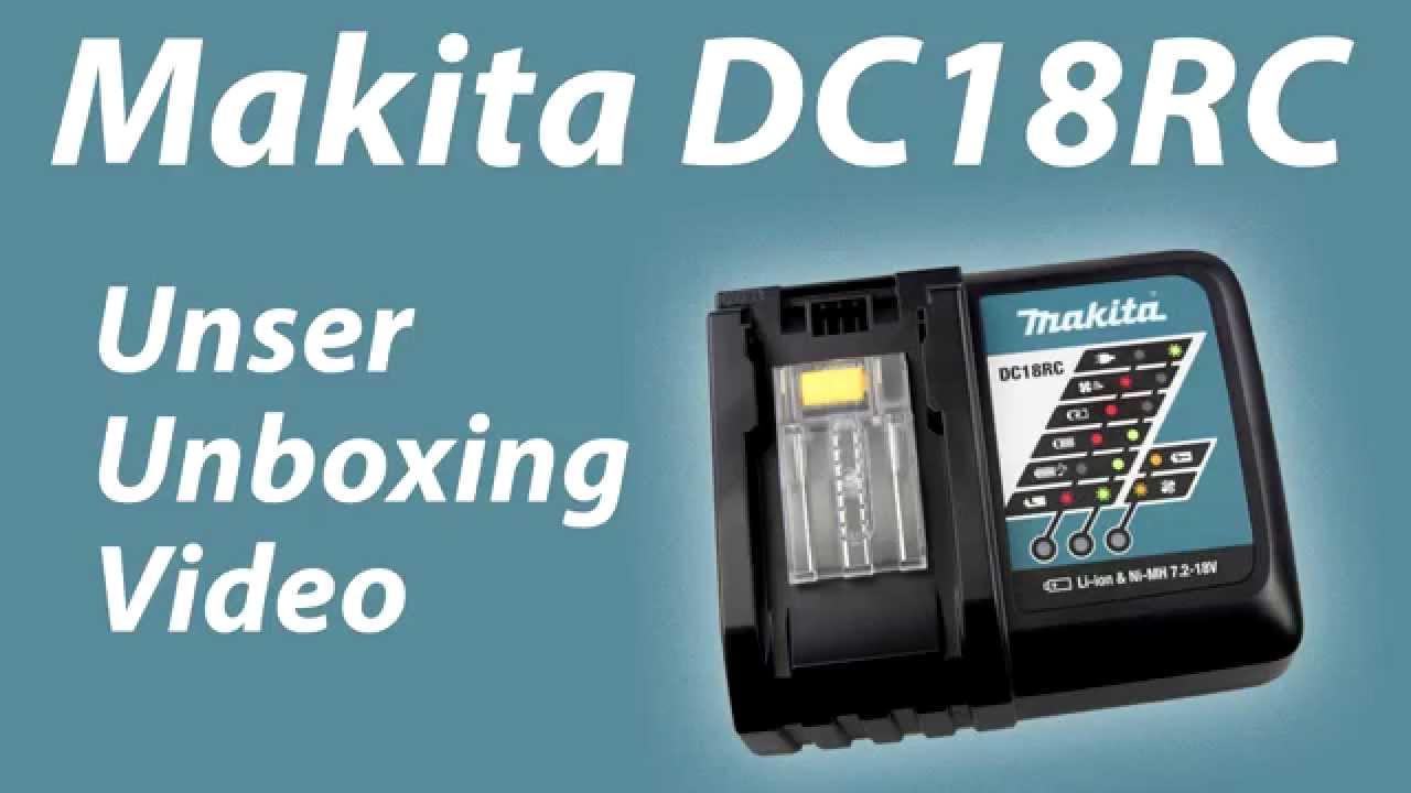 Makita Dc18rc Youtube