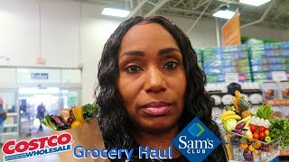 Grocery Haul Costco's vs Sams Club Vlog