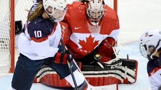 Canada vs USA Women