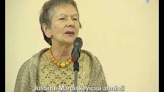 Im Memoriam poetui Justinui Marcinkevičiui atminti (1930 - 2011)