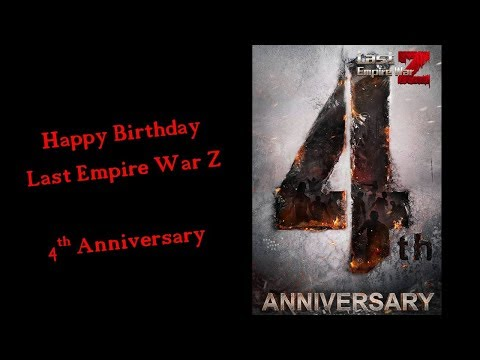 What New For 4th Anniversary Event? Last Empire War Z