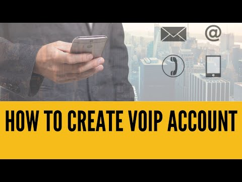 How To Create FREE SIP VoIP Account (ENGLISH)