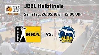 JBBL Halbfinale 2018: Porsche BBA Ludwigsburg - ALBA BERLIN
