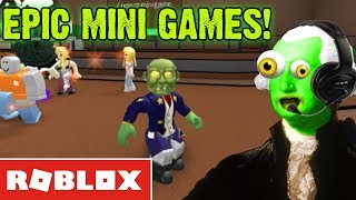 ROBLOX EPIC MINI GAMES 💥 Zombie George Washington!